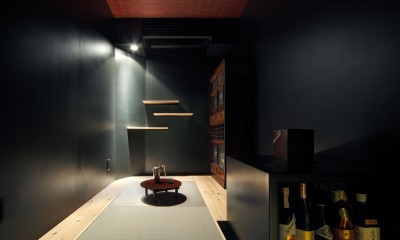 Shabby House  – パリのアパルトマンと酒部屋のある家 – (ご主人唯一のリクエスト「酒部屋」)