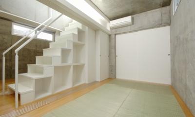 コトノハ舎 (地下の寝室(和室))
