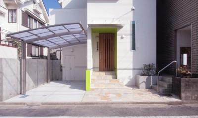 西荻の家(アーチ屋根と自然素材による木造住宅)