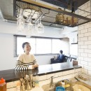 リノデュースの住宅事例「キッチン越しに、広がる世界」