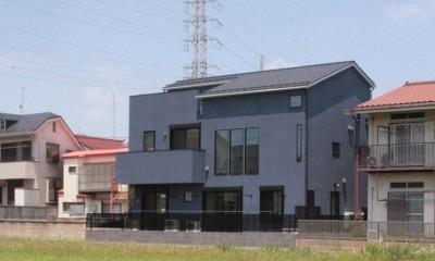 大泉の家(大きなロフトとルーフテラスのある2世帯住宅)