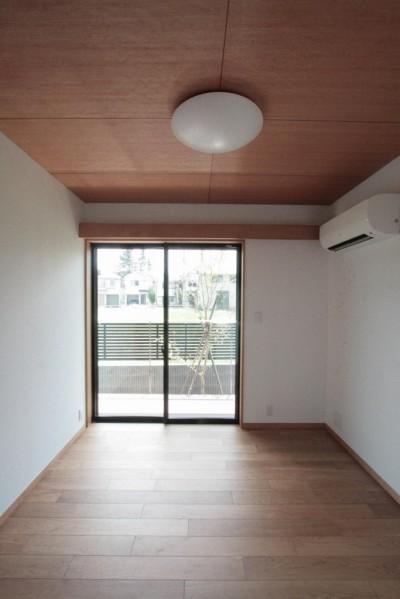 親御さんの部屋(1階) (大泉の家(大きなロフトとルーフテラスのある2世帯住宅))