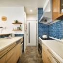 F邸_庭の緑と空間を楽しむ住まいをつくるの写真 キッチン