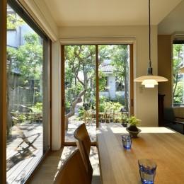 庭の緑と空間を楽しむ住まいをつくる