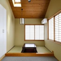 F邸_庭の緑と空間を楽しむ住まいをつくる (和室)