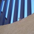 大泉学園の家(薪ストーブを設けた吹抜けを中心とした自然素材の家)の写真 超小型の樋