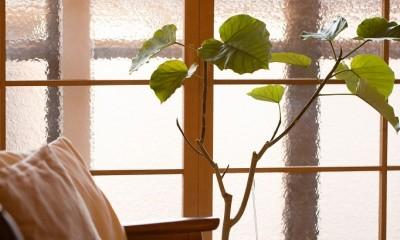 reimportant~「ストックホルムにある和風旅館」のような…そんなイメージを大切につくりあげた住まい~ (造作建具)