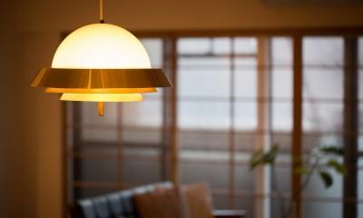 reimportant~「ストックホルムにある和風旅館」のような…そんなイメージを大切につくりあげた住まい~ (ペンダント照明)