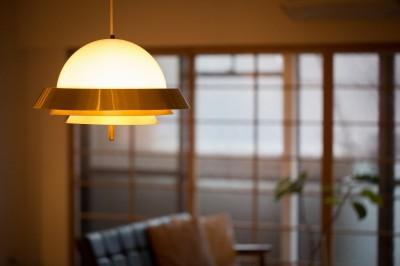 ペンダント照明 (reimportant~「ストックホルムにある和風旅館」のような…そんなイメージを大切につくりあげた住まい~)