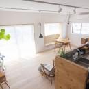 古谷野工務店の住宅事例「西荻の家-眺望と回遊性のある住まい」