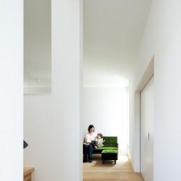 武蔵小金井の家_敷地全体を使いこなすコンパクトな住まい