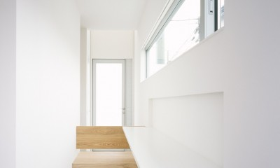 武蔵小金井の家_敷地全体を使いこなすコンパクトな住まい (スタディースペース)