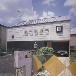 北春日部の家(旗竿敷地)| 内外デッキのある家
