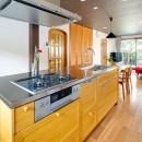 世田谷区等々力S邸 ~家族みんなで考えた家づくり~の写真 キッチン