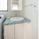 世田谷区等々力S邸 ~家族みんなで考えた家づくり~の写真 洗面室