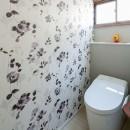 世田谷区等々力S邸 ~家族みんなで考えた家づくり~の写真 トイレ