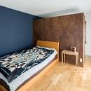 世田谷区等々力S邸 ~家族みんなで考えた家づくり~の写真 ベッドルーム