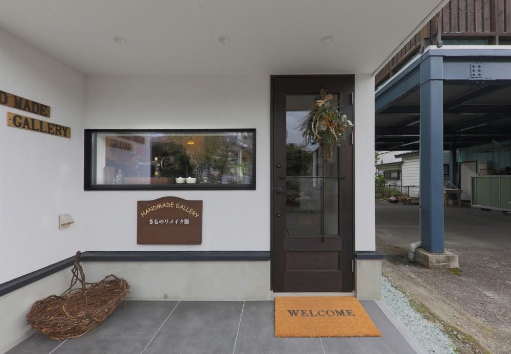 仙台のハコノオウチ (店舗入り口)