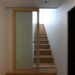 仙台のハコノオウチ (住戸の玄関)
