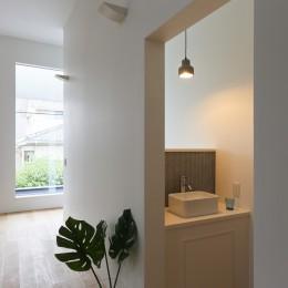 仙台のハコノオウチ (手洗いコーナー)