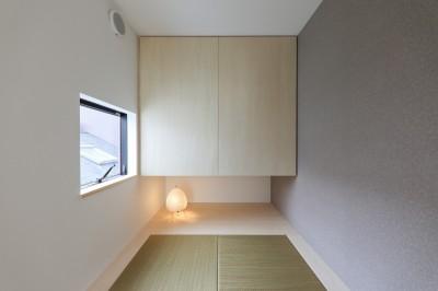 小さな和室 (仙台のハコノオウチ)