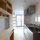 仙台のハコノオウチの写真 キッチンと背面パントリー