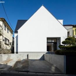 猫と住む家 横浜の二世帯住宅OUCHI-40 (外観)