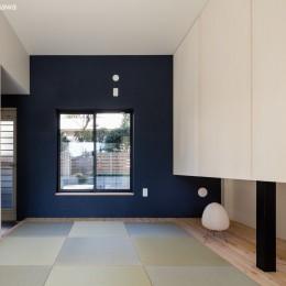 猫と住む家 横浜の二世帯住宅OUCHI-40 (親世帯寝室)