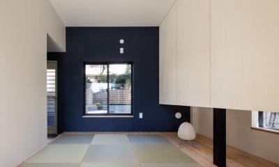 親世帯寝室|猫と住む家 横浜の二世帯住宅OUCHI-40