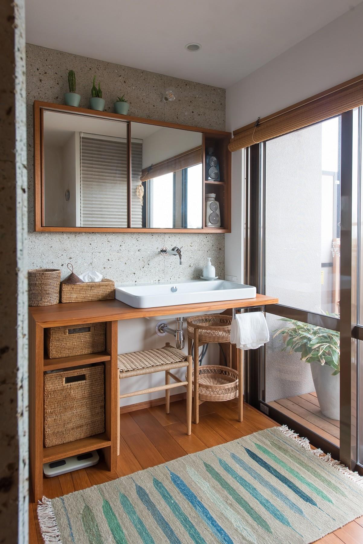 バス/トイレ事例:サニタリー(南越谷Mさんの家)