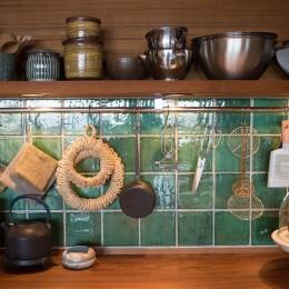 南越谷Mさんの家 (厳選された生活の道具たち)