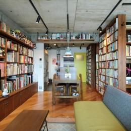 本と暮らす家 (LDK)