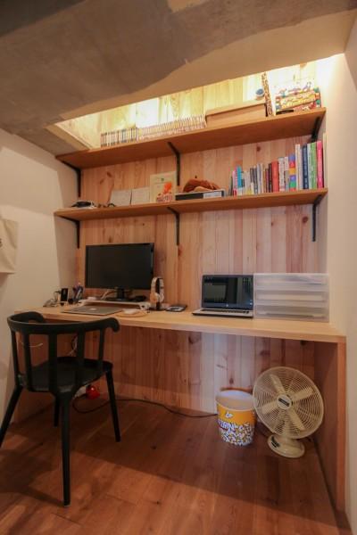 書斎 (和洋折衷のインダストリアル空間)