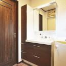 これからの30年を楽しむ家の写真 洗面室