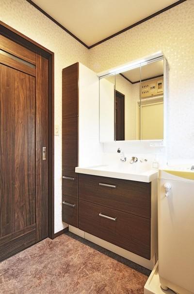 洗面室 (これからの30年を楽しむ家)