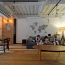 SCHOOL BUS|スクールバス空間設計の住宅事例「暮らしながら育むブルックリンスタイルの鉄骨住宅」