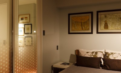 VOL-リフォーム済みの物件。ちょっとのリノベでもっと心地よい空間に (寝室)