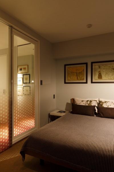 寝室 (VOL-リフォーム済みの物件。ちょっとのリノベでもっと心地よい空間に)