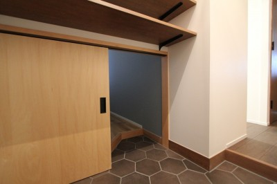 隠れ部屋への入り口 (変えるところ変えないところ)