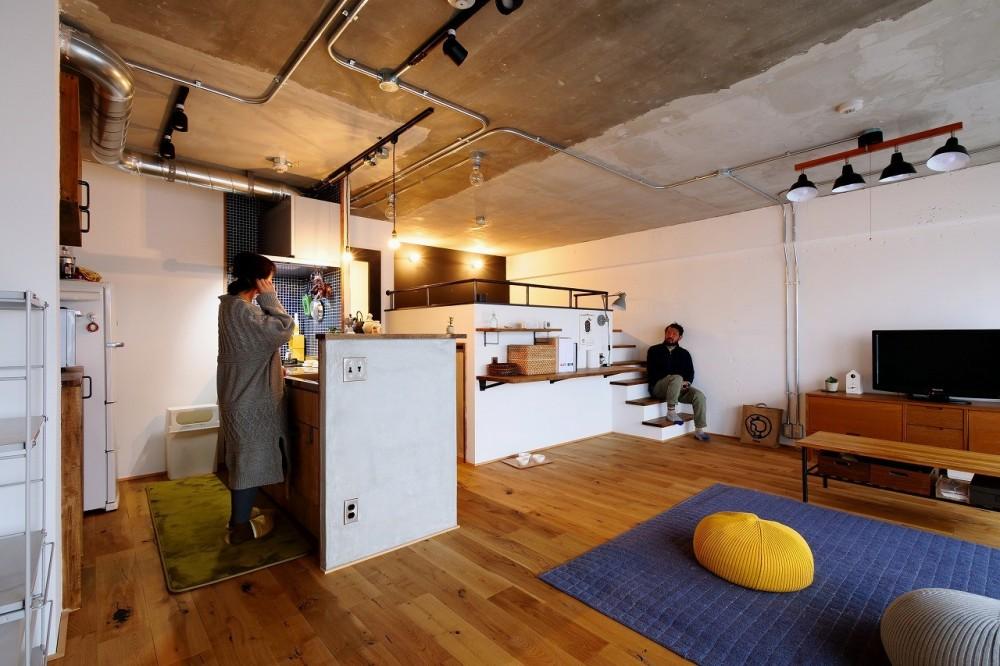 ロフトが主役のカフェハウス (LDK)