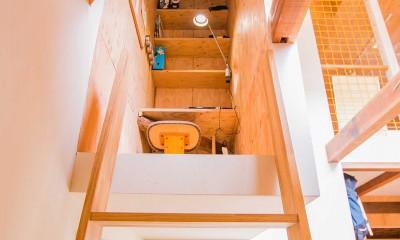 【継承リノベーション】想い出BOX~おじいさまから譲り受けた木造の家、思い出を繋いでいく住まい~ (書斎(こもり部屋))