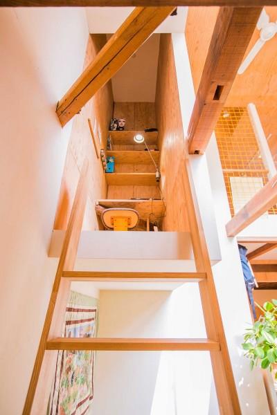 書斎(こもり部屋) (【継承リノベーション】想い出BOX~おじいさまから譲り受けた木造の家、思い出を繋いでいく住まい~)