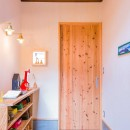 【継承リノベーション】想い出BOX~おじいさまから譲り受けた木造の家、思い出を繋いでいく住まい~の写真 玄関