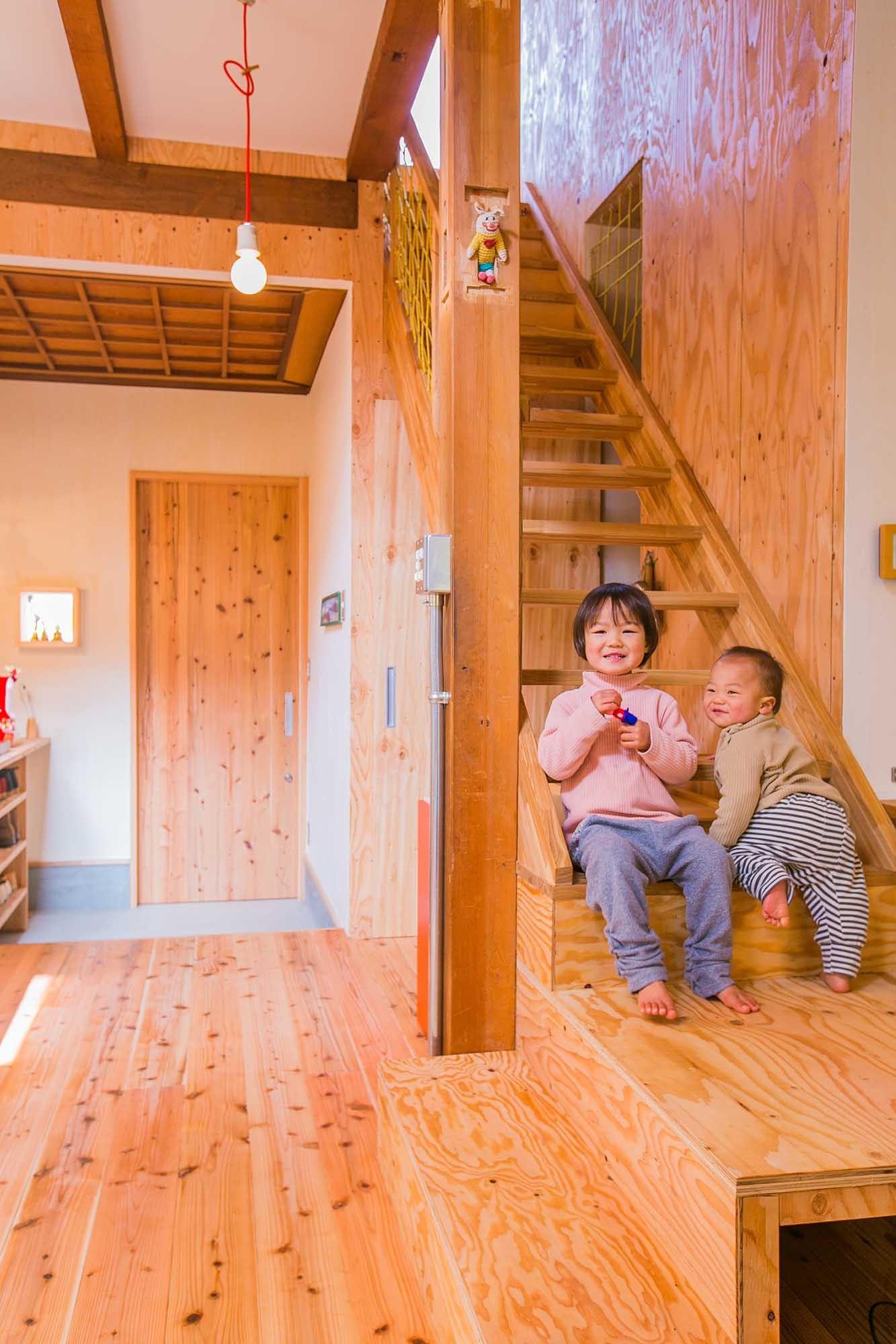 キッチン事例:キッチン(【継承リノベーション】想い出BOX~おじいさまから譲り受けた木造の家、思い出を繋いでいく住まい~)