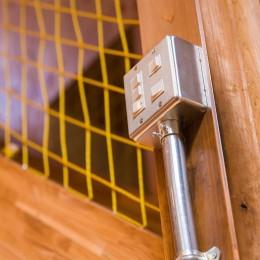 【継承リノベーション】想い出BOX~おじいさまから譲り受けた木造の家、思い出を繋いでいく住まい~ (スイッチ)