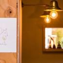 【継承リノベーション】想い出BOX~おじいさまから譲り受けた木造の家、思い出を繋いでいく住まい~の写真 照明