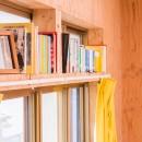 【継承リノベーション】想い出BOX~おじいさまから譲り受けた木造の家、思い出を繋いでいく住まい~の写真 書棚
