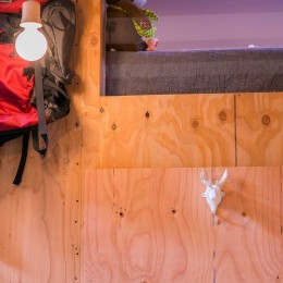 【継承リノベーション】想い出BOX~おじいさまから譲り受けた木造の家、思い出を繋いでいく住まい~ (構造用合板)
