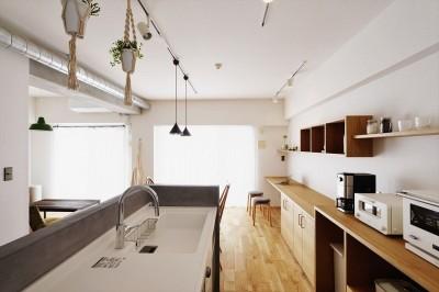 キッチン (M邸_ツナガル形 ツナガル想い)