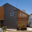 ポーラスターデザイン一級建築士事務所の住宅事例「elnath/平面的、立体的な斜めの壁によって構成された空間を考えてみる。」